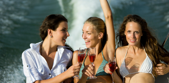 Sunset Boat Cruise… Friends, Family & Parties. Call Today