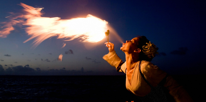 Fire Breathing from Mallory Square
